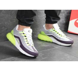 Купить Мужские кроссовки Nike Air Max 95 + Max 270 серые с неоновым в Украине
