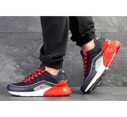 Купить Мужские кроссовки Nike Air Max 95 + Max 270 темно-синие с красным