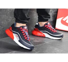 Купить Мужские кроссовки Nike Air Max 95 + Max 270 темно-синие с красным в Украине