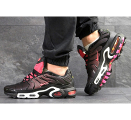 Купить Мужские кроссовки Nike Air Max Plus TN черные с розовым