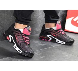 Купить Мужские кроссовки Nike Air Max Plus TN черные с розовым в Украине