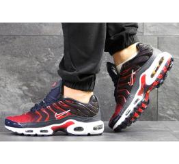 Купить Мужские кроссовки Nike Air Max Plus TN темно-синие с красным