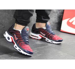 Купить Чоловічі кросівки Nike Air Max Plus TN темно-сині з червоним в Украине