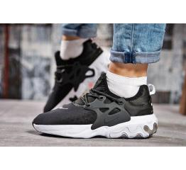 Женские кроссовки Nike Air Presto React черные с белым