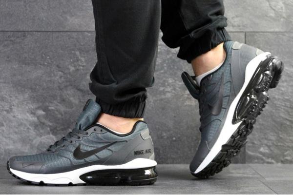 Мужские кроссовки Nike Air Vapormax Turbo серые