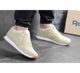 Купить Мужские кроссовки Reebok Classic Leather песочные в Украине