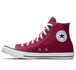 Купить Женские кеды Converse Chuck Taylor All Star High бордовые