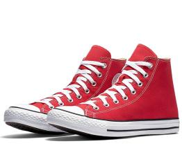 Женские кеды Converse Chuck Taylor All Star High красные