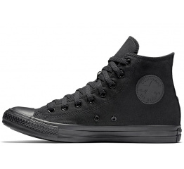 Мужские кеды Converse Chuck Taylor All Star High Mono Black черные