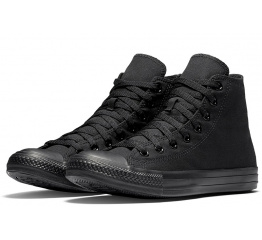 Женские кеды Converse Chuck Taylor All Star High Mono Black черные