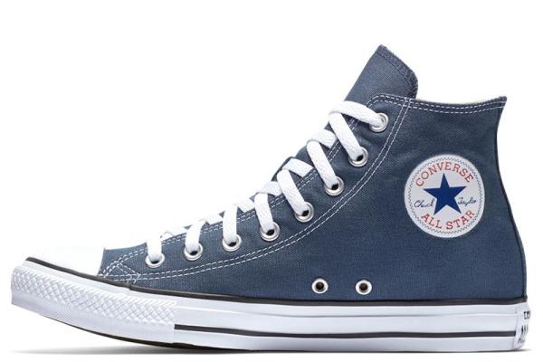 Женские кеды Converse Chuck Taylor All Star High синие