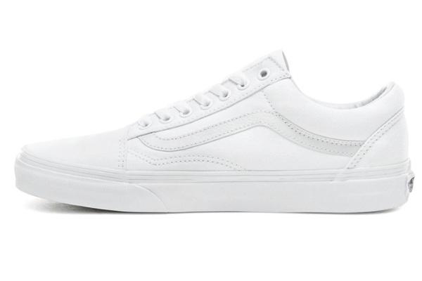 Женские кеды Vans Old Skool White Pearl белые
