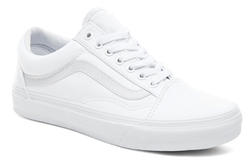 bb4c8efe Vans (Ванс) кеды Old Skool White Pearl белые купить   ASPOLO