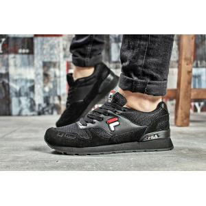 Женские кроссовки Fila черные