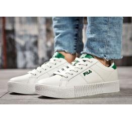 Купить Жіночі кросівки Fila Creeper білі з зеленим