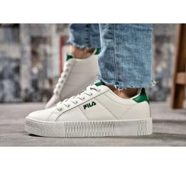 Купить Жіночі кросівки Fila Creeper білі з зеленим в Украине