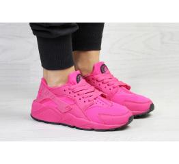 Женские кроссовки Nike Air Huarache малиновые