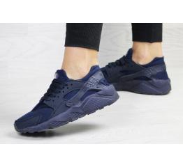 Купить Жіночі кросівки Nike Air Huarache темно-сині в Украине