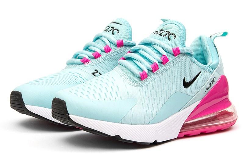 9d69a6bb Nike (Найк) кроссовки Air Max 270 бирюзовые с малиновым купить | ASPOLO