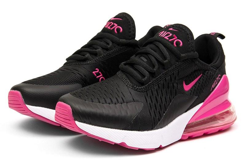 478581d7 Nike (Найк) кроссовки Air Max 270 черные с малиновым купить | ASPOLO