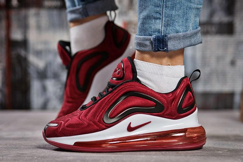 5a2a27af Nike (Найк) кроссовки Air Max 720 бордовые купить   ASPOLO