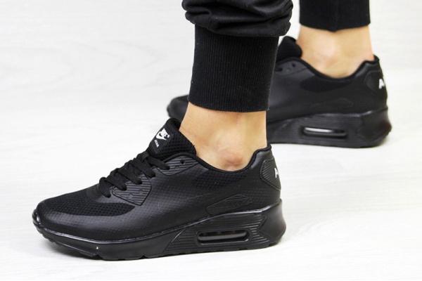 Женские кроссовки Nike Air Max 90 Hyperfuse черные