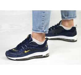Купить Женские кроссовки Nike Air Max 98 темно-синие