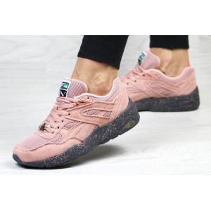 Женские кроссовки Puma Trinomic R698 розовые