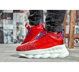 Купить Жіночі кросівки Versace Chain Reaction Sneakers червоні