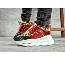 Женские кроссовки Versace Chain Reaction Sneakers многоцветные