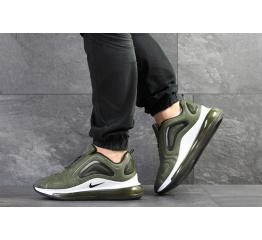 Купить Мужские кроссовки Nike Air Max 720 хаки с белым