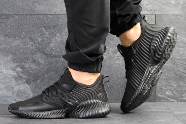 Мужские кроссовки Adidas Alphabounce Instinct CC черные