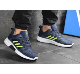 Купить Чоловічі кросівки Adidas Climacool Cm темно-сині с неоновым в Украине