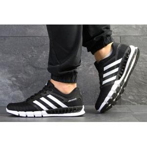 Мужские кроссовки Adidas Climacool Revolution черные с белым