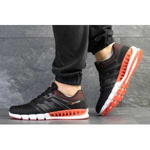 Мужские кроссовки Adidas Climacool Revolution черные с оранжевым