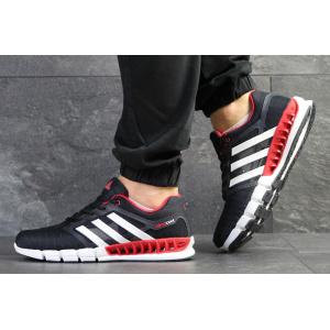 Мужские кроссовки Adidas Climacool Revolution темно-синие с белым