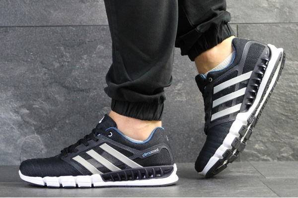 f9c9a342 Adidas (Адидас) кроссовки Climacool Revolution темно-синие с серым ...