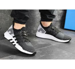 Купить Мужские кроссовки Adidas EQT Support Mid ADV Primeknit черные с светло-серым в Украине