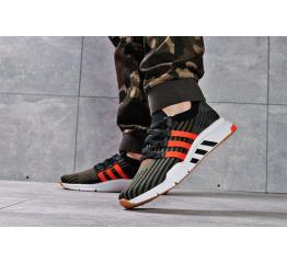 Купить Чоловічі кросівки Adidas EQT Support Mid ADV Primeknit хаки в Украине