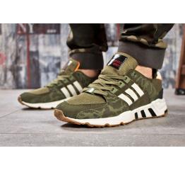 Мужские кроссовки Adidas EQT Support RF зеленые