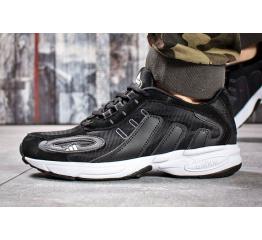 Купить Мужские кроссовки Adidas Galaxy K черные с белым