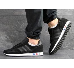 Мужские кроссовки Adidas LA Trainer черные