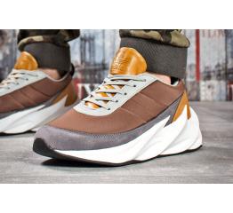 Мужские кроссовки Adidas Sharks коричневые