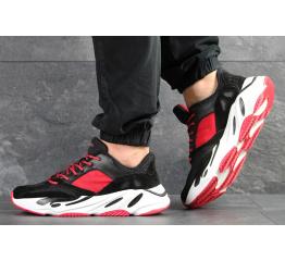 Купить Мужские кроссовки Adidas Yeezy Boost Wave Runner 700 x Balance Life черные с красным
