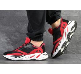 Купить Мужские кроссовки Adidas Yeezy Boost Wave Runner 700 x Balance Life красные с черным