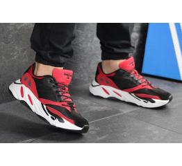 Купить Мужские кроссовки Adidas Yeezy Boost Wave Runner 700 x Balance Life красные с черным в Украине