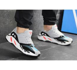Купить Мужские кроссовки Adidas Yeezy Boost Wave Runner 700 x Balance Life серые в Украине