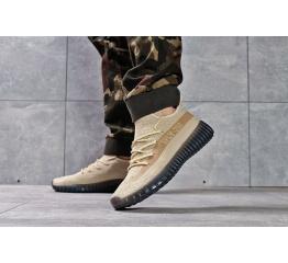 Купить Мужские кроссовки Adidas Yeezy SPLY-350 бежевые в Украине