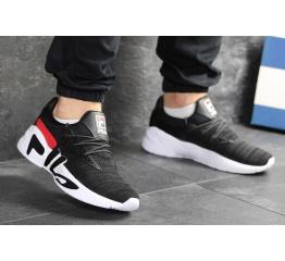 Мужские кроссовки Fila Mindblower черные с белым