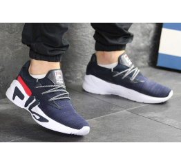 Мужские кроссовки Fila Mindblower синие с белым